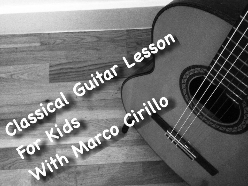 Classical Guitar Lesson for Kids in London