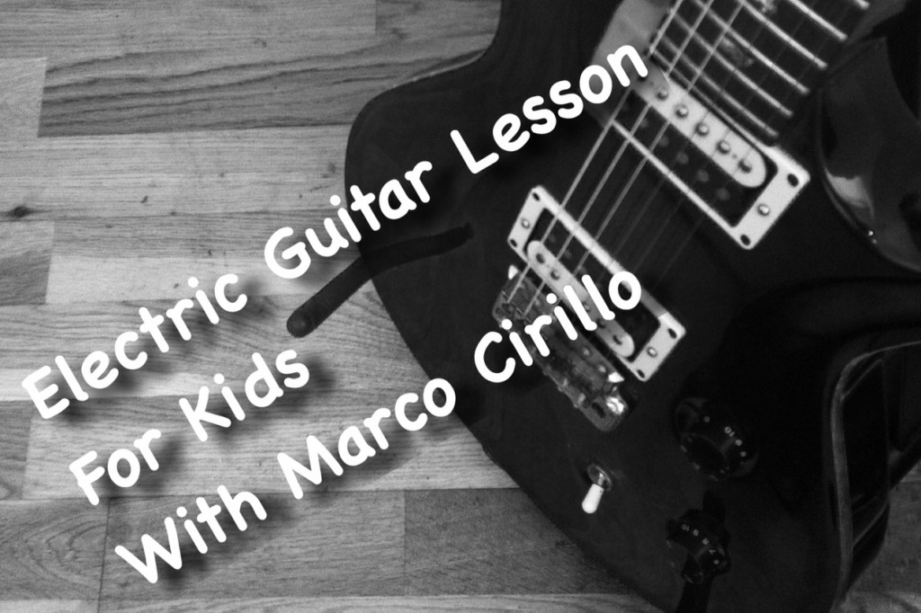 Electric Guitar Lesson for Kids in London