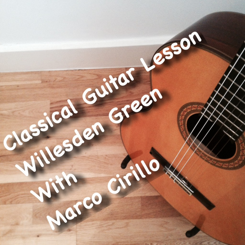 Classical Guitar Lesson in Willesden Green - Learn Classical Guitar in Willesden Green - Guitar Teacher Willesden Green