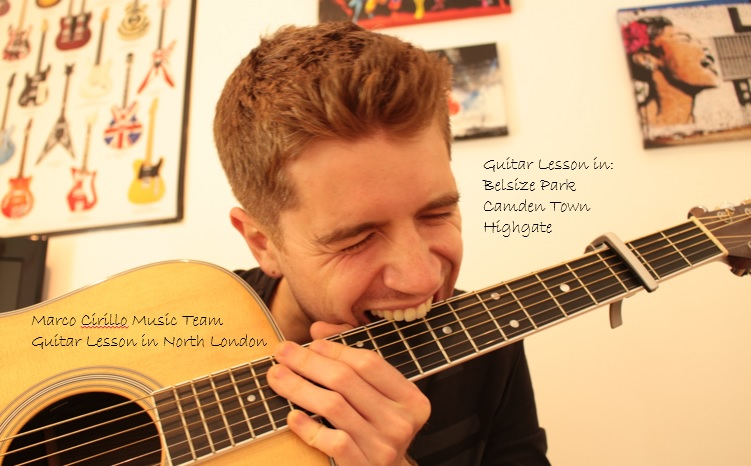 Guitar Lesson in Hightgate, Camden Town, Belsize Park. Acoustic, Classical and Electric Guitar Lesson in North London