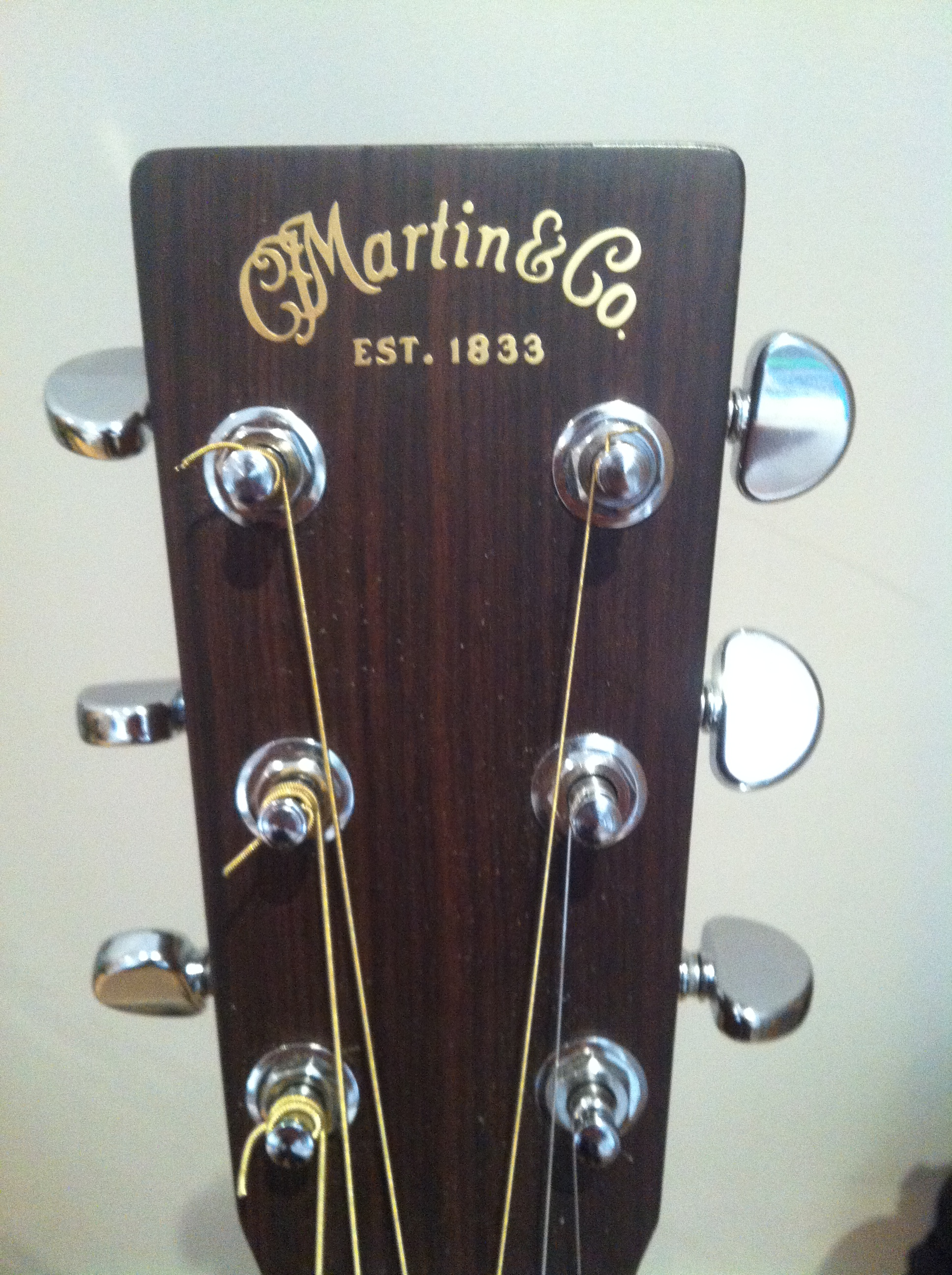 how to change strings to your acoustic guitar model martin d35 with photo marco cirillo. Black Bedroom Furniture Sets. Home Design Ideas