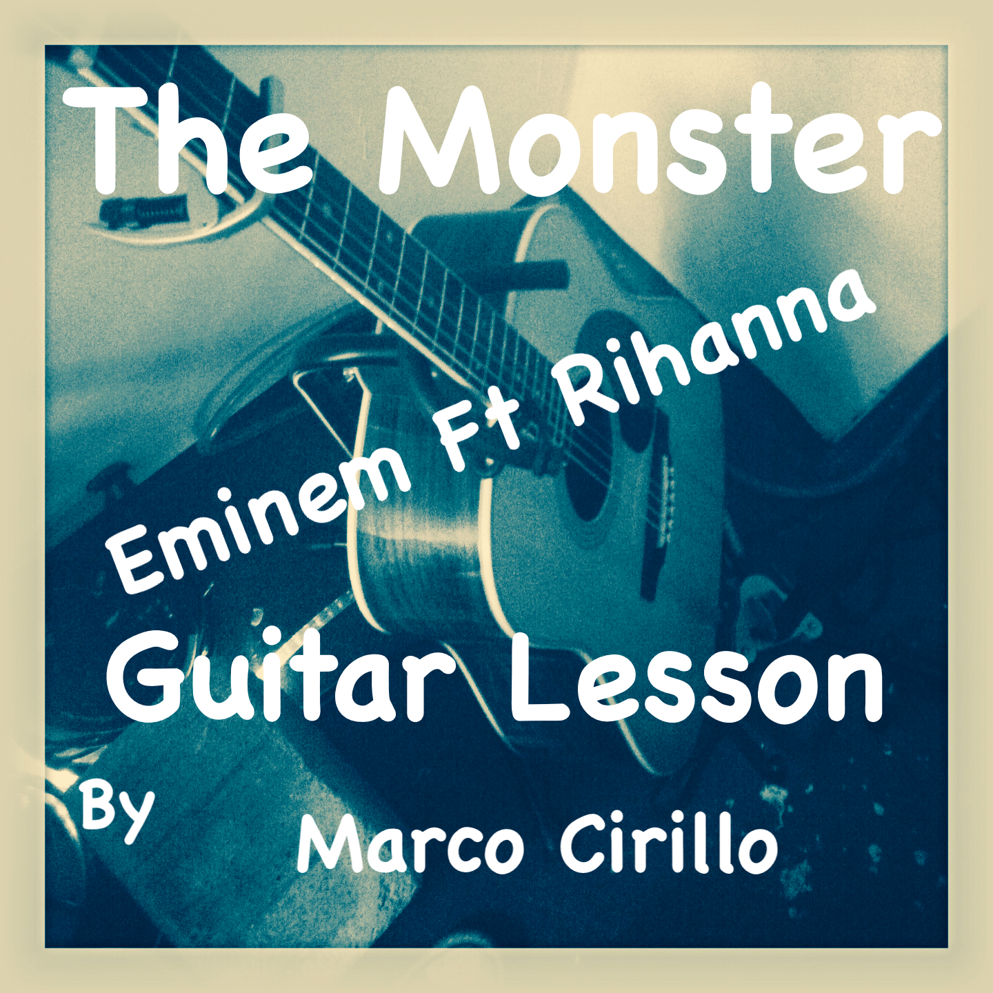 The Monster Eminem Ft Rihanna Chords And Tab Free Online