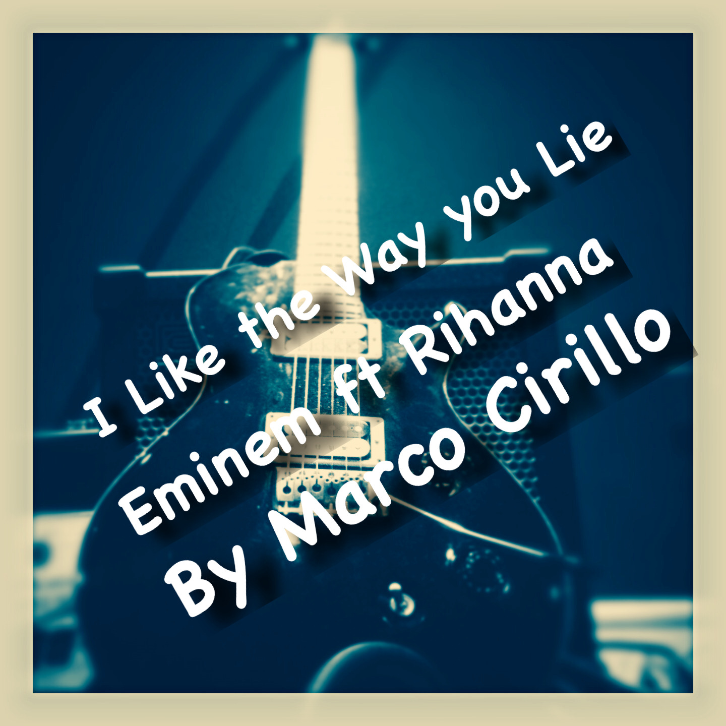 I Like the Way You Lie Eminem Ft Rihanna Guitar Lesson Chords and Tab by Marco Cirillo Guitar Tutorial Easy Songs for Beginners-Intermediate. Learn Guitar in London