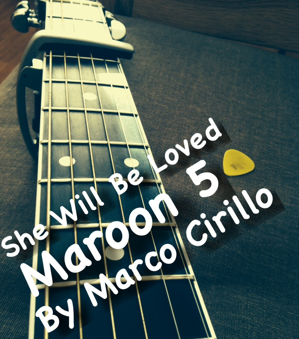 She Will Be Loved Maroon 5 Guitar Lesson Chords and Tab by ...