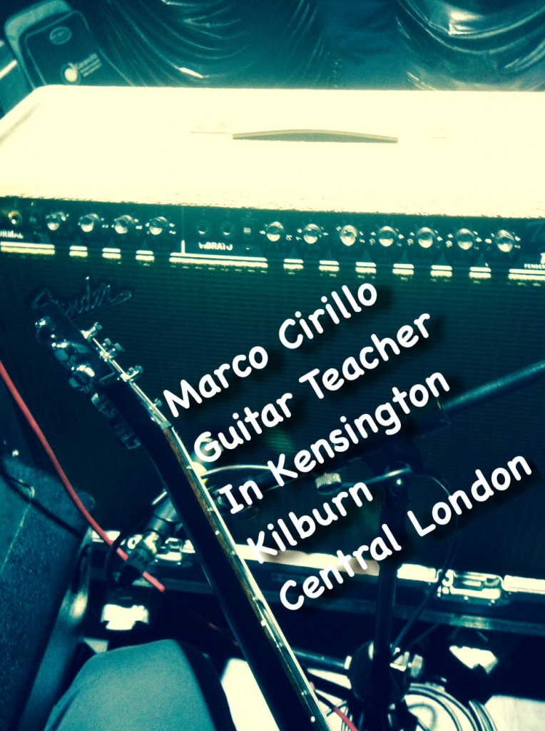 Guitar Lesson in Kensington - Notting Hill Gate High Street Kensington South Kensington Knightsbridge Chelsea with Marco Cirillo Qualified Guitar Teacher. Guitar Lesson for Kids, Beginners and Advanced Guitar Players.