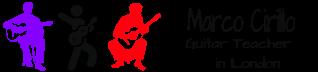 Marco Cirillo London Guitar Lesson Electric, Acoustic and Classical Guitar Tutor. Guitar Lesson in Kilburn, Kensington and Central London.