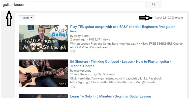 Guitar lessons on youtube are more that 2,610,000. Are private lesson with private teachers still worth the money